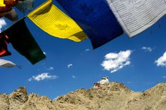 Tsemo Fort in Ladakh visible from everywhere in Leh.  #Leh #Ladakh #IndiaTravel