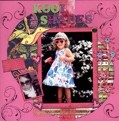 Kool Shades - Scrapbook.com