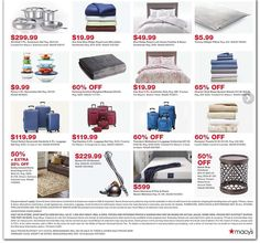 Macy's Cyber Monday Ad Scan, Deals and Sales 2019 The Macy's 2019 Cyber Monday ad is here! Be sure to subscribe to our newsletter to receive emails about all the latest Cyber Monday news and ad leaks ... #cybermonday #macys Macys Black Friday, Cyber Monday Ads, Monday News, Ireland Homes, Canister Vacuum, Kathy Ireland, Walkabout, Blue Ridge, Bath Towels