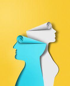 Cnrs / eiko ojala on behance paper design inspiration, desig 3d Paper Art, Paper Artwork, Paper Crafts, Web Design, Creative Design, Graphic Design, Vector Design, Papercut Art, Eiko Ojala