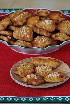 Albahaca y canela.Honey christmas cookies