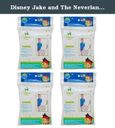 """Disney Jake and The Neverland Pirates Potty Topper 40 Count. Disney Jake and the Neverland pirates potty topper disposable toilet seat covers. You are sure to fall for our disposable, stick-on toilet seat covers. Our potty toppers are a must for public rest rooms and the whole family will love them. They provide """"on-the-go"""" protection from public toilet seat germs."""