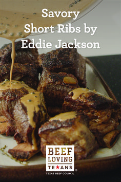 Looking for love? These Brandied Short Ribs by Celeb Chef Eddie Jackson are elegant, delicious, and seared to perfection. Carrot Recipes, Onion Recipes, Meat Recipes, Dutch Oven Cooking, Beef Steak, Dinner Is Served, Short Ribs, Bbq Nation, Jackson