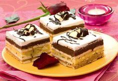Brzo i bez pečenja: Čokoladna karamel torta Banana Dessert, Banana Cream, Tiramisu, Sweet Treats, Cheesecake, Dessert Recipes, Food And Drink, Yummy Food, Ethnic Recipes