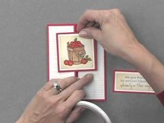 Gatefold Card with a Twist - YouTube