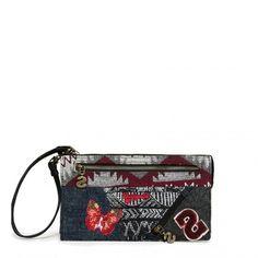 Bustina Desigual con zip Angelina 67Y53D2 - Scalia Group #desigual #borse #donna #handbags #color #winder #fallwinter #women