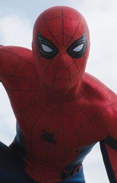 """Hey, everyone!"" Spider-Man Captain America Civil War"
