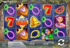 [JUEGOS] Juega gratis a la maquinita tragamonedas de Electric Sam aqui: #FelizJueves #casino