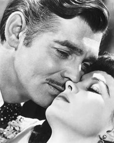 Clark Gable & Vivien Leigh  ~ ''Gone With The Wind''