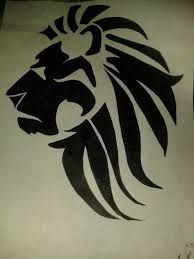 نتيجة بحث الصور عن tribal lion tattoos