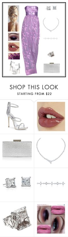 """Untitled # 339"" by binasa87 ❤ liked on Polyvore featuring Giuseppe Zanotti, Charlotte Tilbury, Monsoon, Harry Winston, Blue Nile, Chanel and OPI"
