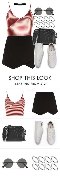 """Sin título #12638"" by vany-alvarado ❤ liked on Polyvore featuring Topshop, Yves Saint Laurent and ASOS"