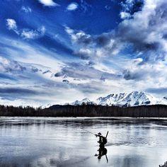 fishing in Alaska.