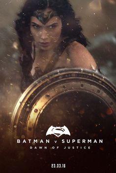 Gal Gadot Wonder Woman in Batman v Superman: Batman Vs Superman, Superman Dawn Of Justice, Dc Movies, Comic Movies, Wonder Woman Y Superman, Marvel Comics, Wander Woman, Gal Gadot Wonder Woman, Female Superhero