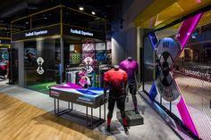 Sun & Sand Sports Store - The Dubai Mall - Football Experience.