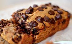 Secret healthy banana bread - no butter, oil, or refined sugar. Gluten free. Under 100 calories. ~ Nancy