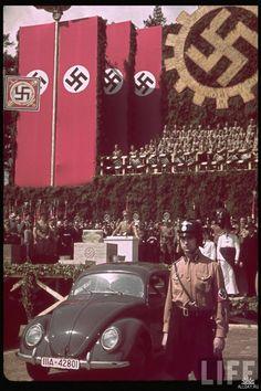 Нацистская Германия в цветных фотографиях