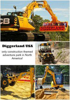 Diggerland USA: construction themed adventure park