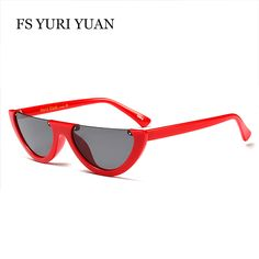 """The accessory of the season, half """"watermelon"""" shades make a statement - these are a must have for any girls jewelry box. Lens Height: Width: Please read our Shipping Terms Page before placing an order from our store. Sunglasses Women 2017, Cat Sunglasses, Mirrored Sunglasses, Vintage Sunglasses, Yuri, Girls Jewelry Box, Fashion 2017, Eyewear, Branding Design"""
