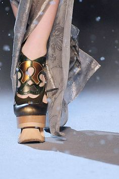 John Galliano Spring/Summer 2010 shoes