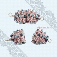 link in this blog for tute: how to cover magnetic clasp with bead weaving
