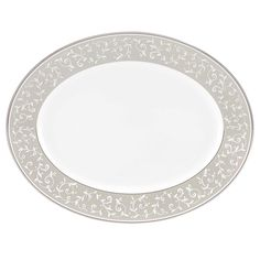 Lenox Opal Innocence Dune Oval Platter, White >>> Special  product just for you. See it now! : Dining Entertaining
