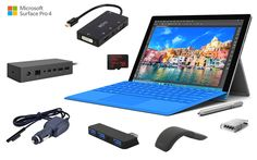 Are you looking for Surface Pro 3 accessories? Check out our recommended must have accessories that will make your Surface Pro 3 much better productivity. Surface Pro 2, Microsoft Surface Pro 4, Surface Laptop, Surface Pro 4 Accessories, Tech News Today, Desktop Computers, Computer Laptop, Smart Home Automation, Best Laptops