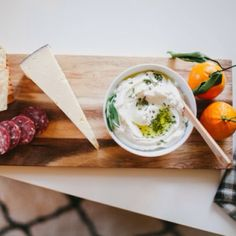 A yummy recipe for Whipped Ricotta & Herbs #onggtoday / photo by @kateannphotography #recipefile