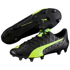 b6afb83b9 Puma evoSPEED SL-S FG Soccer Cleats (Black Safety Yellow White)
