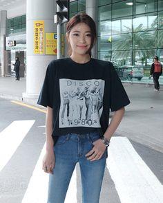 ルーズフィット半袖プリントTシャツ[FLY MODEL  公式・オンラインストア]ファッション通販 今日もFLY MODELと一緒!