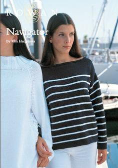 The Vintage Pattern Files: Free 1960's Knitting Pattern Navigator A Breton Style Knit