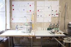 Freunde von Freunden — Hien Le — Fashion Designer, Apartment and Studio, Berlin-Kreuzberg — http://www.freundevonfreunden.com/interviews/hie...