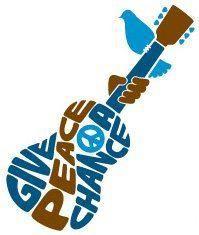 - Give PEACE A Chance. #peace #guitar #artwork http://www.pinterest.com/TheHitman14/peace-love-%2B/