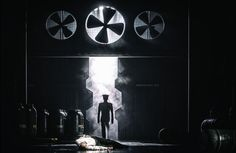 Photograph from Tristan I Izolda - lighting design by Charlie Morgan Jones