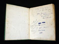John Lennon: His childhood stamp album is now part of the Postal Museum's collection.