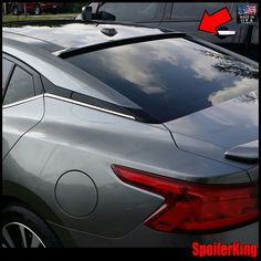 StanceNride Rear Roof Spoiler Window Wing (Fits: Nissan Maxima 2016-on A36) #SPKDepot