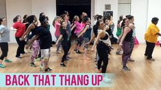 nice Juvenile - Back That Thang Up ft. Lil Wayne (Dance Fitness with Jessica)by http://dezdemoonfitnes.gdn
