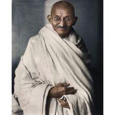 Mahatma Gandhi was born on october 2 1869. #gandhi #coloured #photo