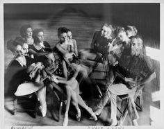 Duane Michals, Balanchine, 1960