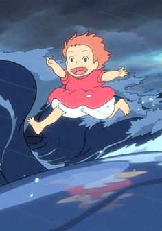 Ponyo on the Cliff by the Sea.  One of my favorite movies <3