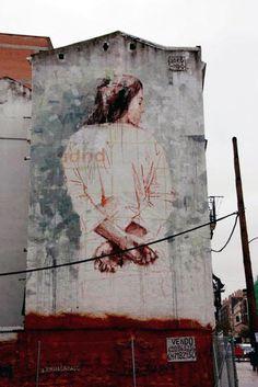 borondo . #borondo http://www.widewalls.ch/artist/borondo/