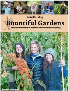 Sign Up for a Free Bountiful Gardens Seed Catalog with This Guide