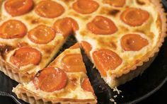 Tarte aux Abricots avec thermomix. Voici une délicieuse recette de tarte aux abricots, facile et simple à préparer chez vous avec le thermomix.