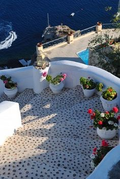 stairs to sea in Ikaria, Greece. I really want to go here