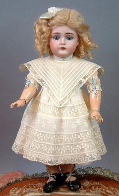 "16"" Kestner 174 In Perfect Condition- Original Costume-Cabinet Perfect!"