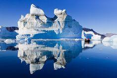 Icebergs, Røde Ø, Scoresbysund, Greenland | Flickr - Photo Sharing!