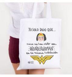 Bolsa de tela Wonderwoman