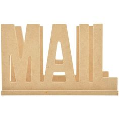 Beyond The Page MDF - Mail Holder