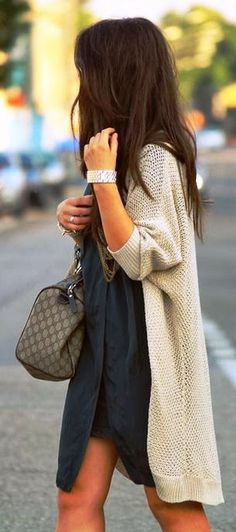 So cute! Love the lazy sweater, cute, fashionable, but still easy to throw on.