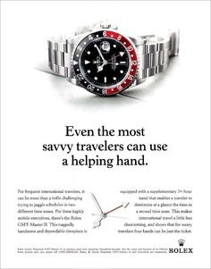 Rolex GMT - Advertisement